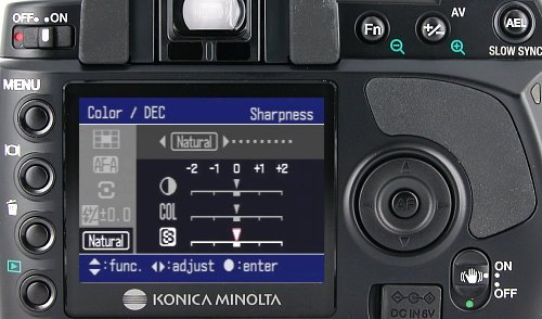 Konica Minolta MAXXUM 5D, image (c) 2005 Steve's Digicams