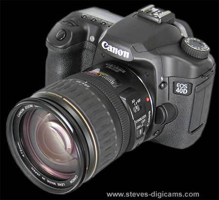 Canon EOS 40D SLR Review - Steve's Digicams