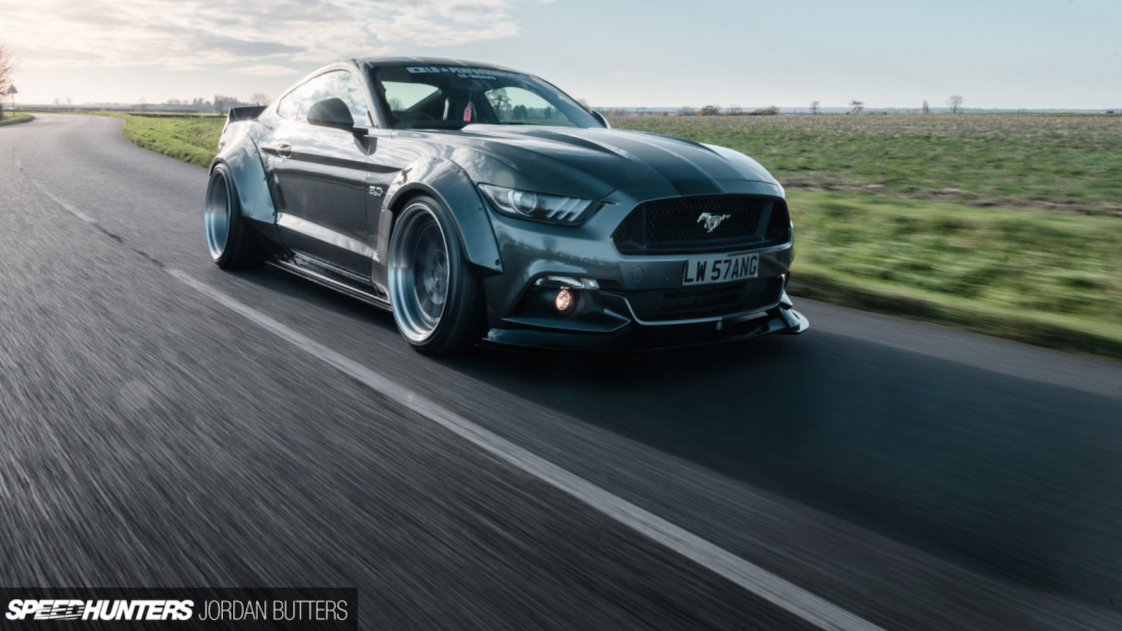 Liberty Walk Europe Mustang With Works Kit Themustangsource