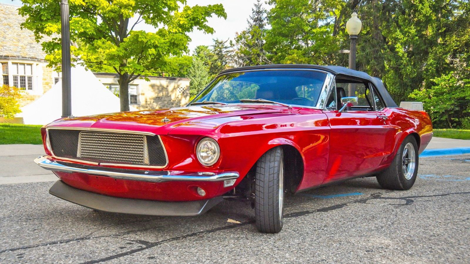 1968 Mustang Convertible Makes 730HP with 2JZ Swap