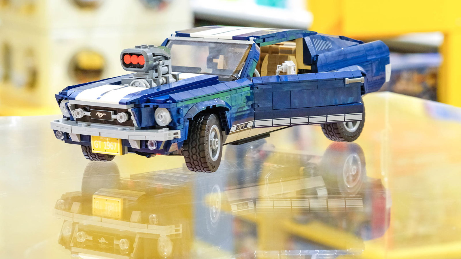 Here's the Classic Mustang For Your Desk
