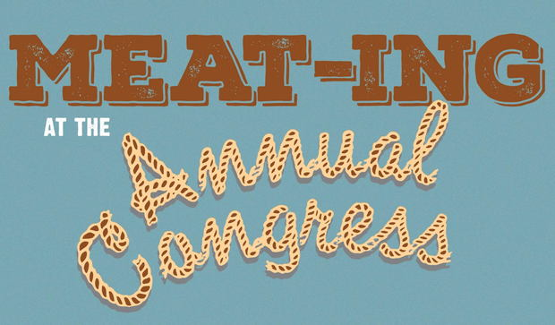 Meat-ing at the Annual Congress