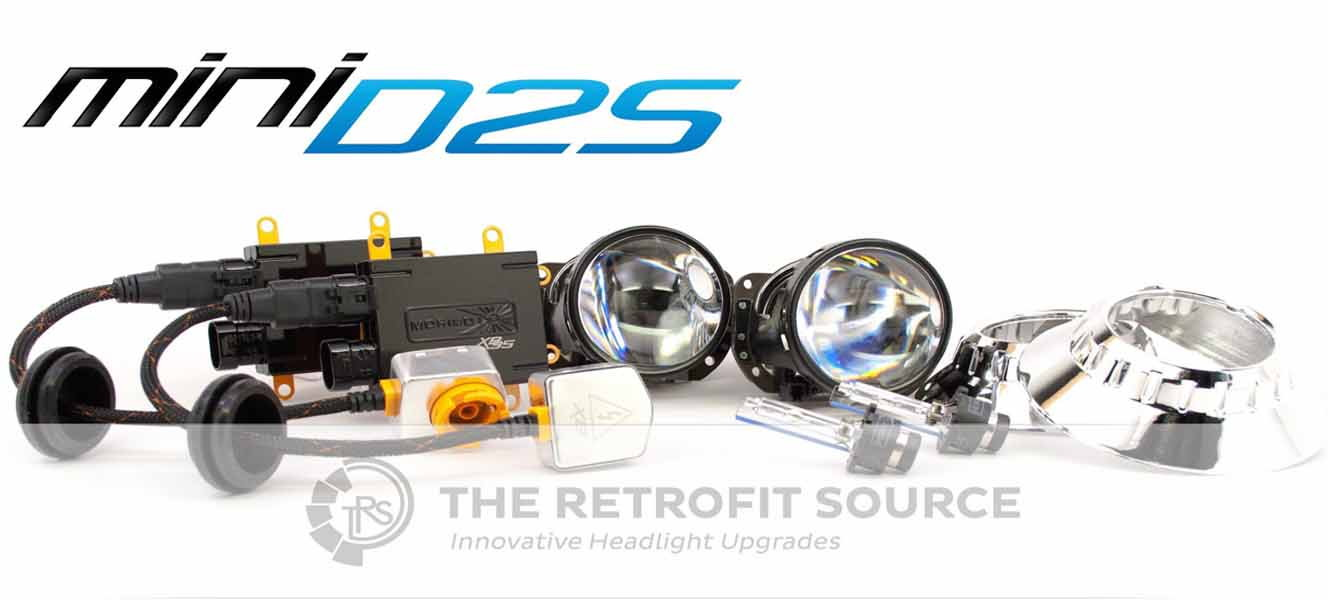 RetrofitSource Morimoto Mini Stage III D2S HID Retrofit headlights