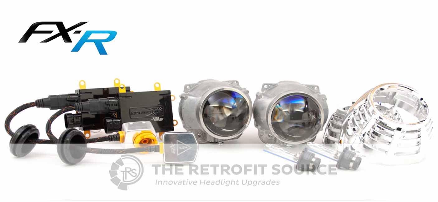 RetrofitSource FX-R Stage III HID Retrofit headlights