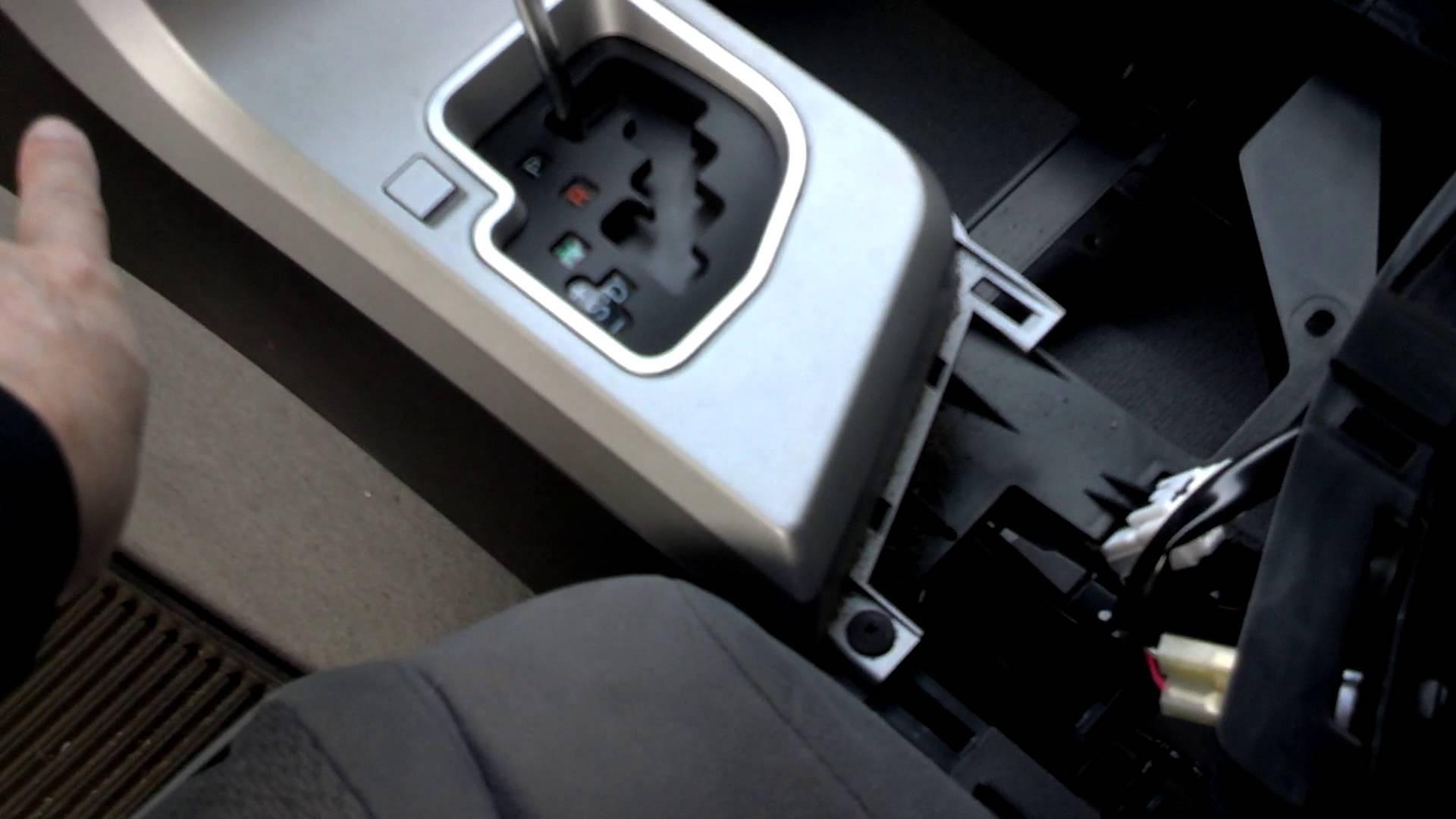 Tundra center console trim