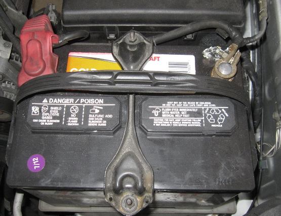 Installing new battery