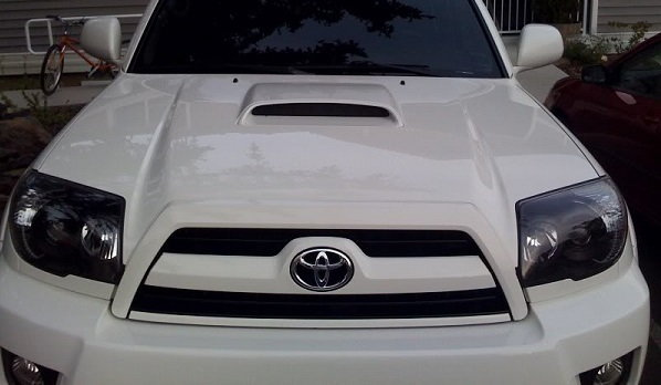 Toyota blacked out headlights