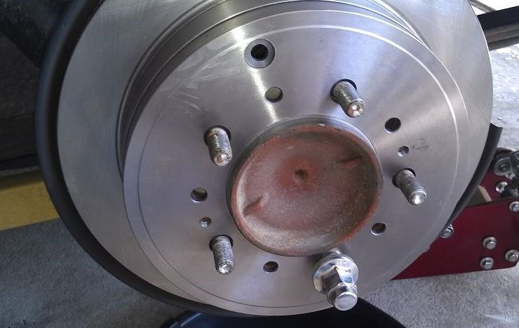 Toyota Tundra Replacing Brake Pads, Calipers and Rotors