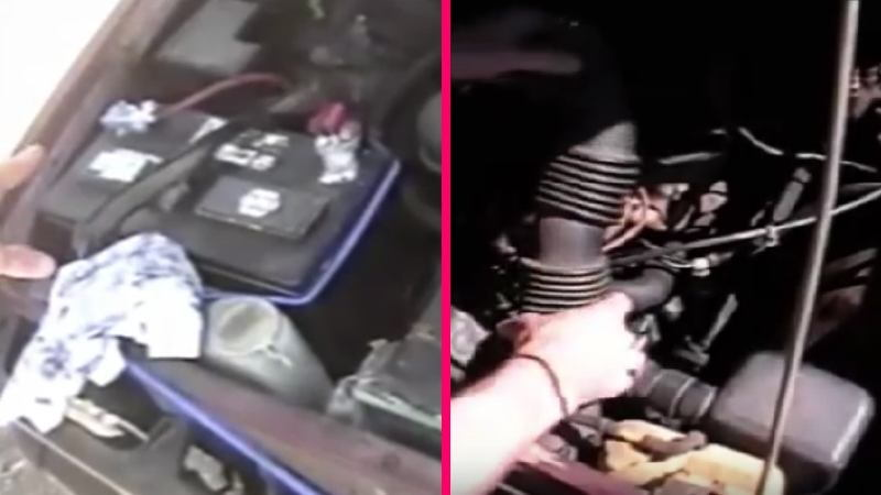 toyota 4runner 22r 22re drive serpentine belt how to diy replacement power  steering a/c