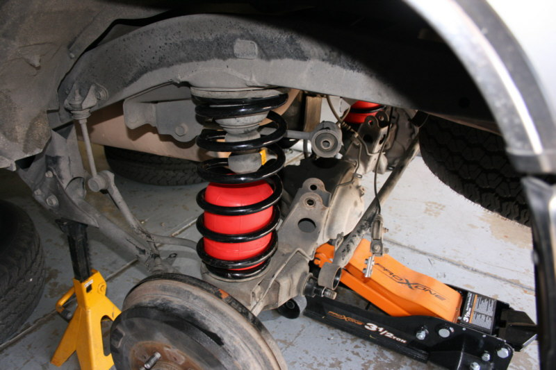 Coil springs on Toyota 4Runner