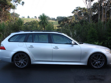 My current ride: E61 530d MSport