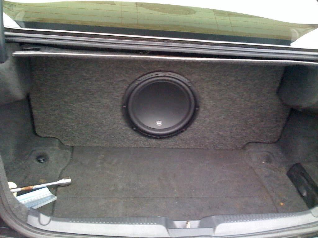 Kicker Custom Subwoofer Box Acurazine Acura Enthusiast