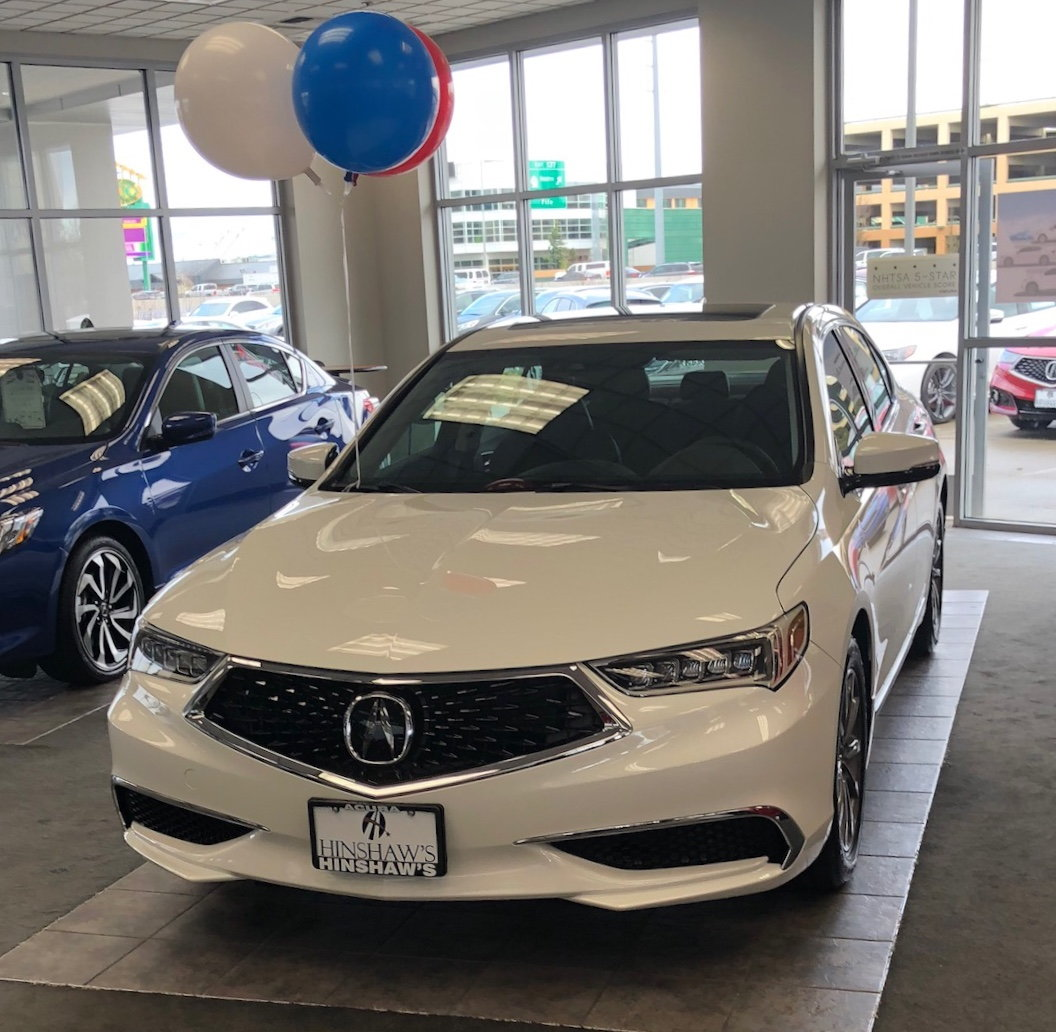 My New 2018 TLX Tech 2.4