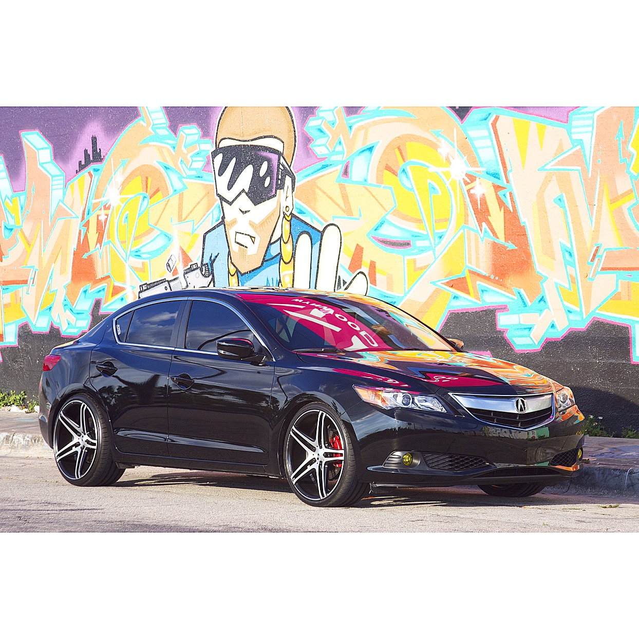 "(2015) 2.4 Acura ILX On 20"" Rims Lowered With D2 Coilovers"