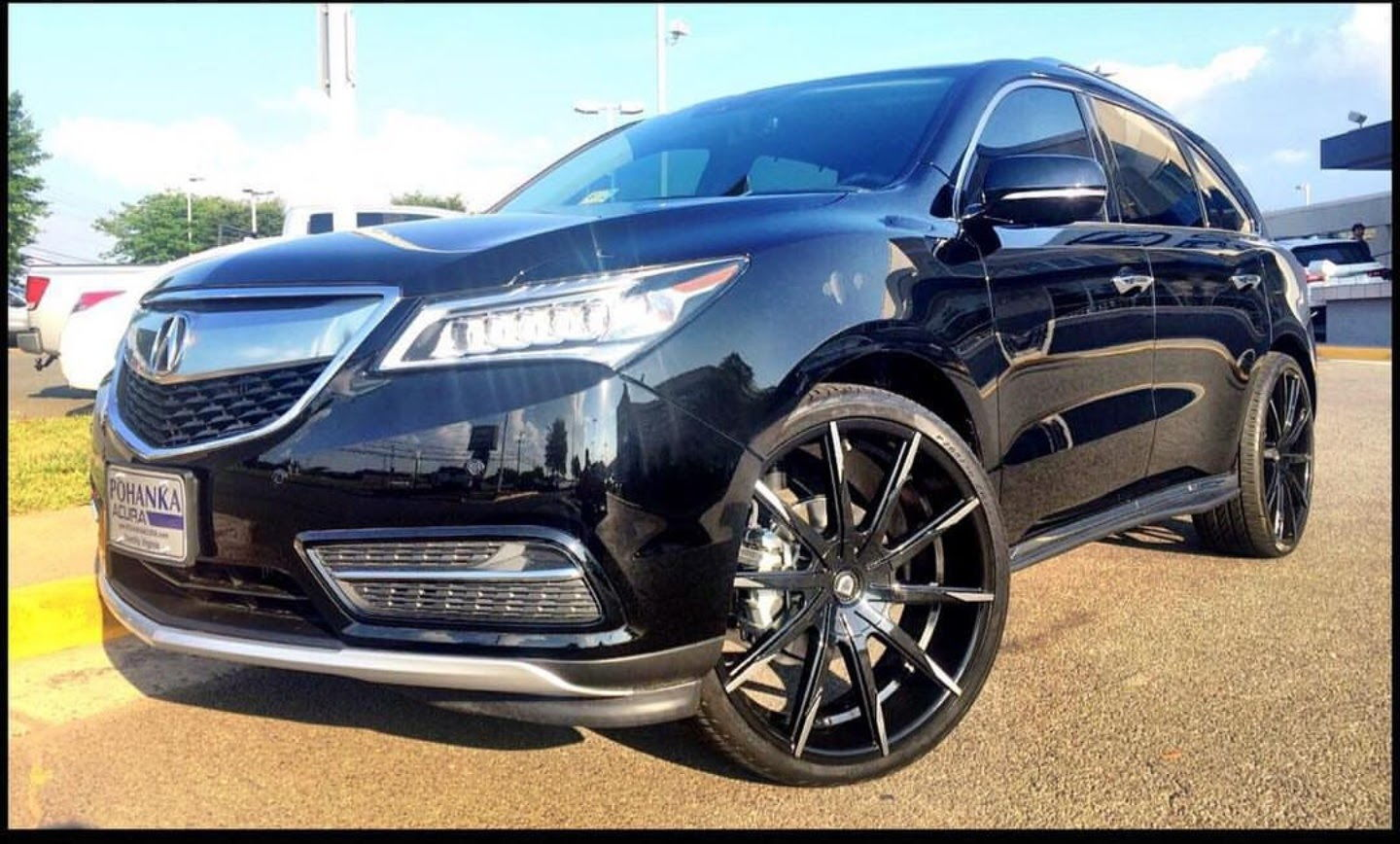 "2016 MDX SH-AWD with 24"" Wheels - AcuraZine - Acura Enthusiast Community"
