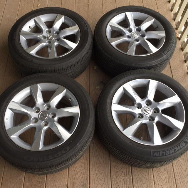 "FS: 2012 Acura TL OEM 17"" Wheels, Gorrila And Rays Wheel"