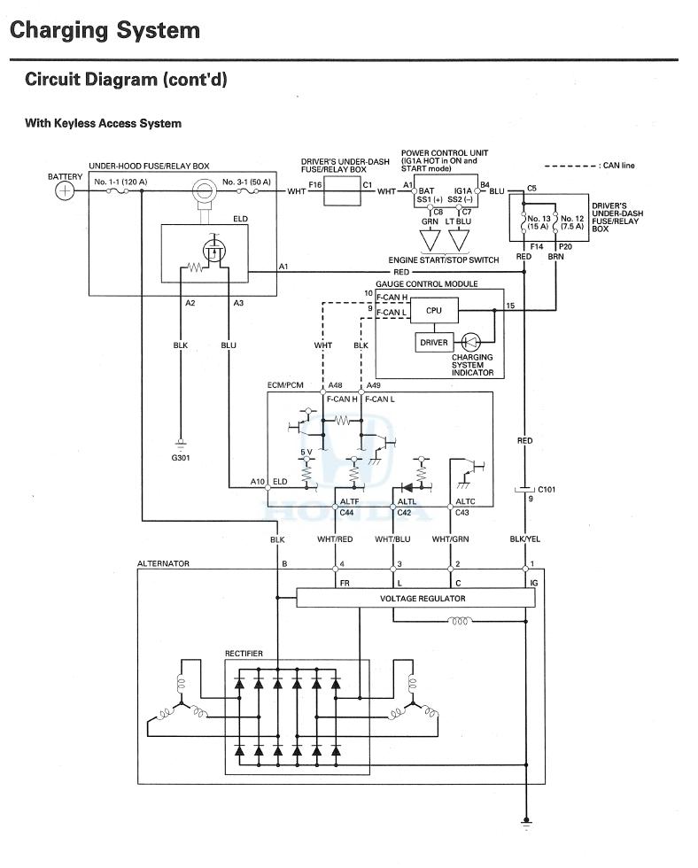 2009 Tl Alternator Wiring - Acurazine
