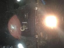 Modded lights near the winch.
