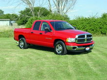 2003 Dodge Ram, 2500 with High Output Cummins Turbo Deisel