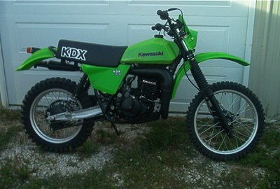 recently accqired a kawasaki kdx 400 dirt bike atvconnection com on 1980 Kawasaki KDX 175 for (pics below are not of mine, may add some of my own later) at Custom 1979 KDX 400
