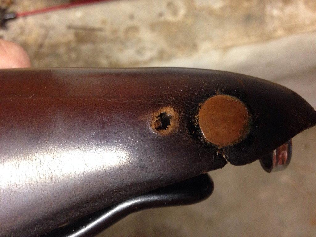 Tension Adjustment Tool NOS Vintage 1960/'s Brooks Leather Saddle