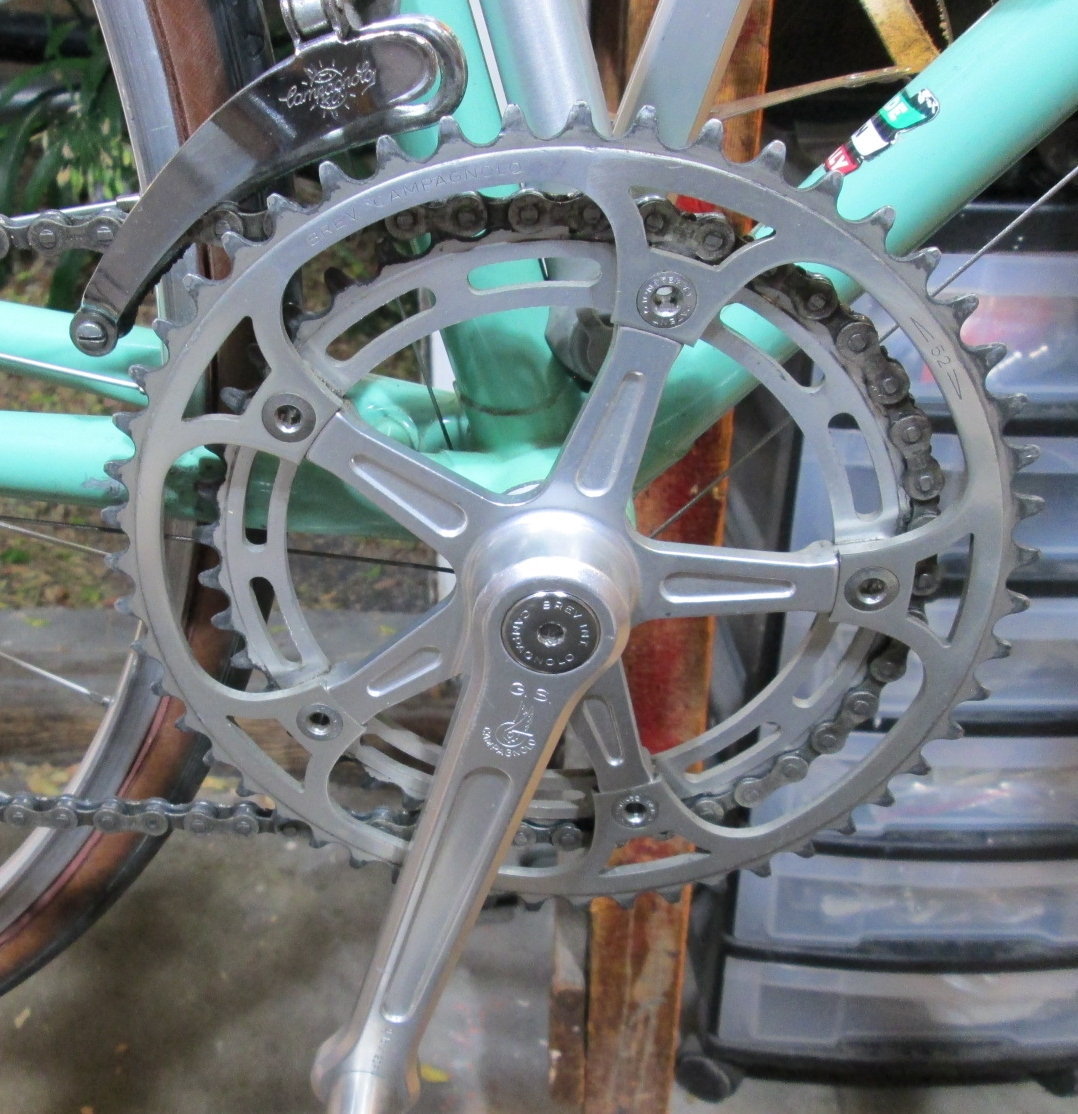 TRIOMPHE 42-43 CHAINRING 116 BCD Vintage NOS CAMPAGNOLO VICTORY
