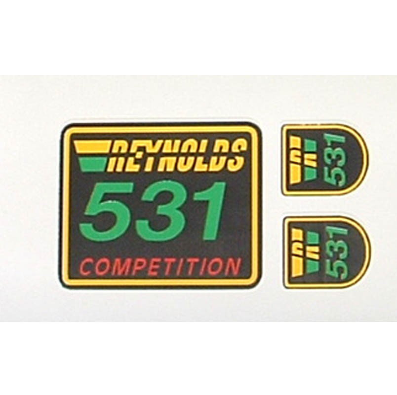 Bicycle Decals Transfers Reynolds 531 Frame Tubing Decal