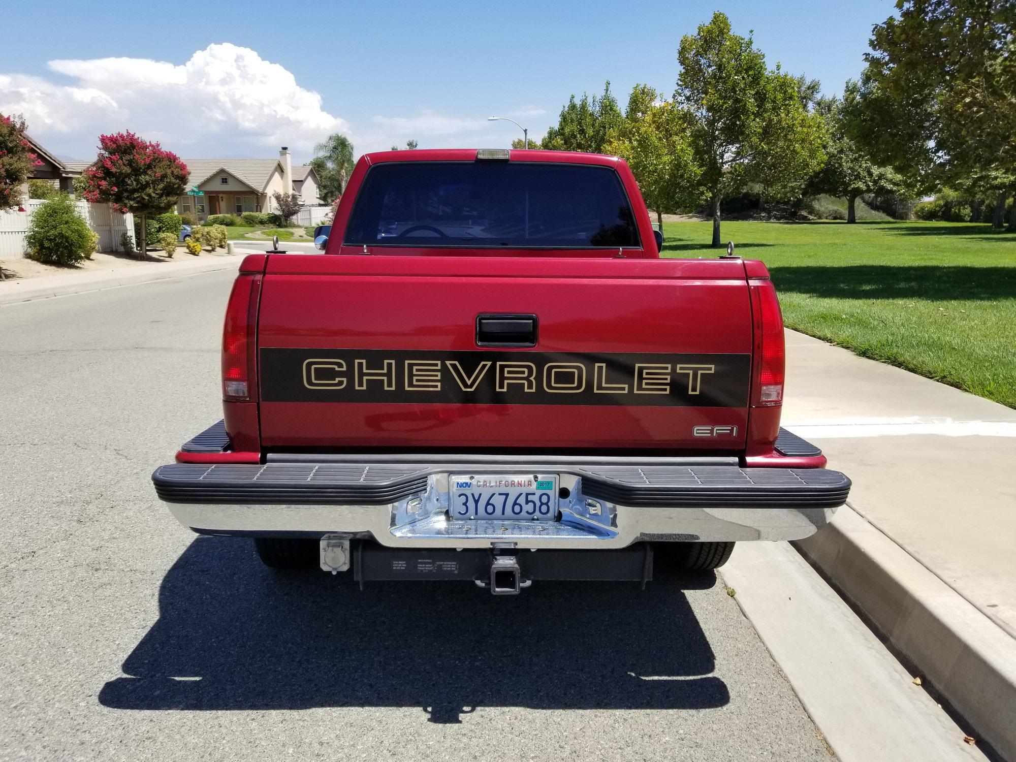 For Sale: Flawless 1990 Chevrolet Silverado 1500 Stepside ...