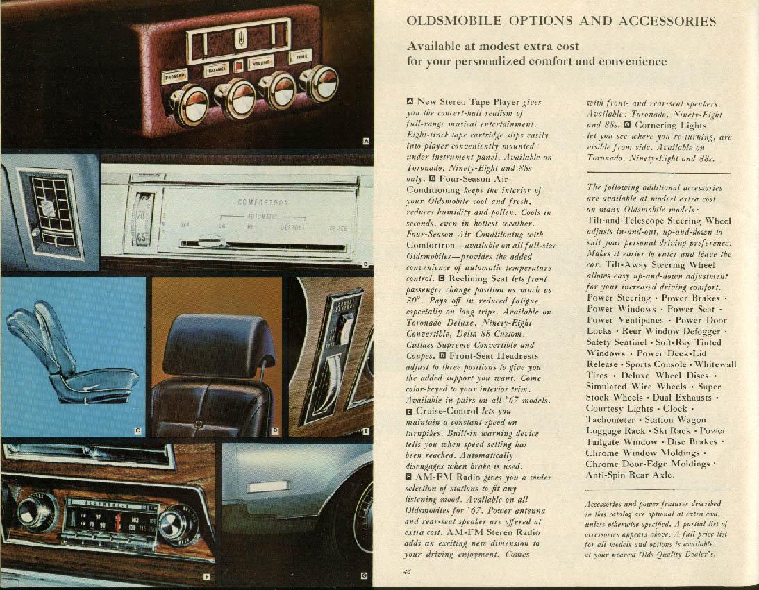 1967 Oldmobile radio - ClassicOldsmobile com