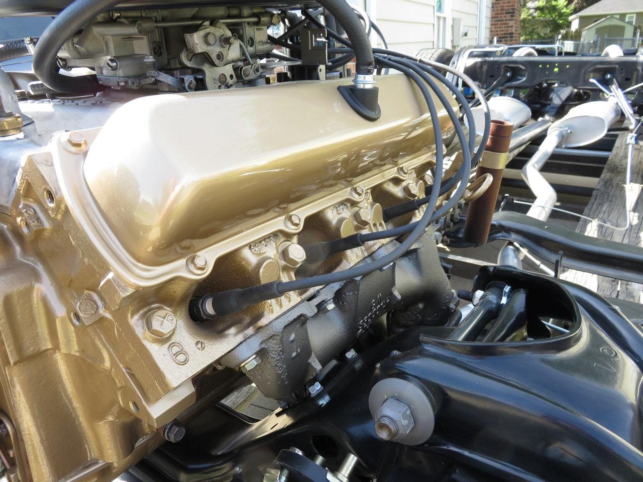 Gold Engine Paint Classicoldsmobilecom