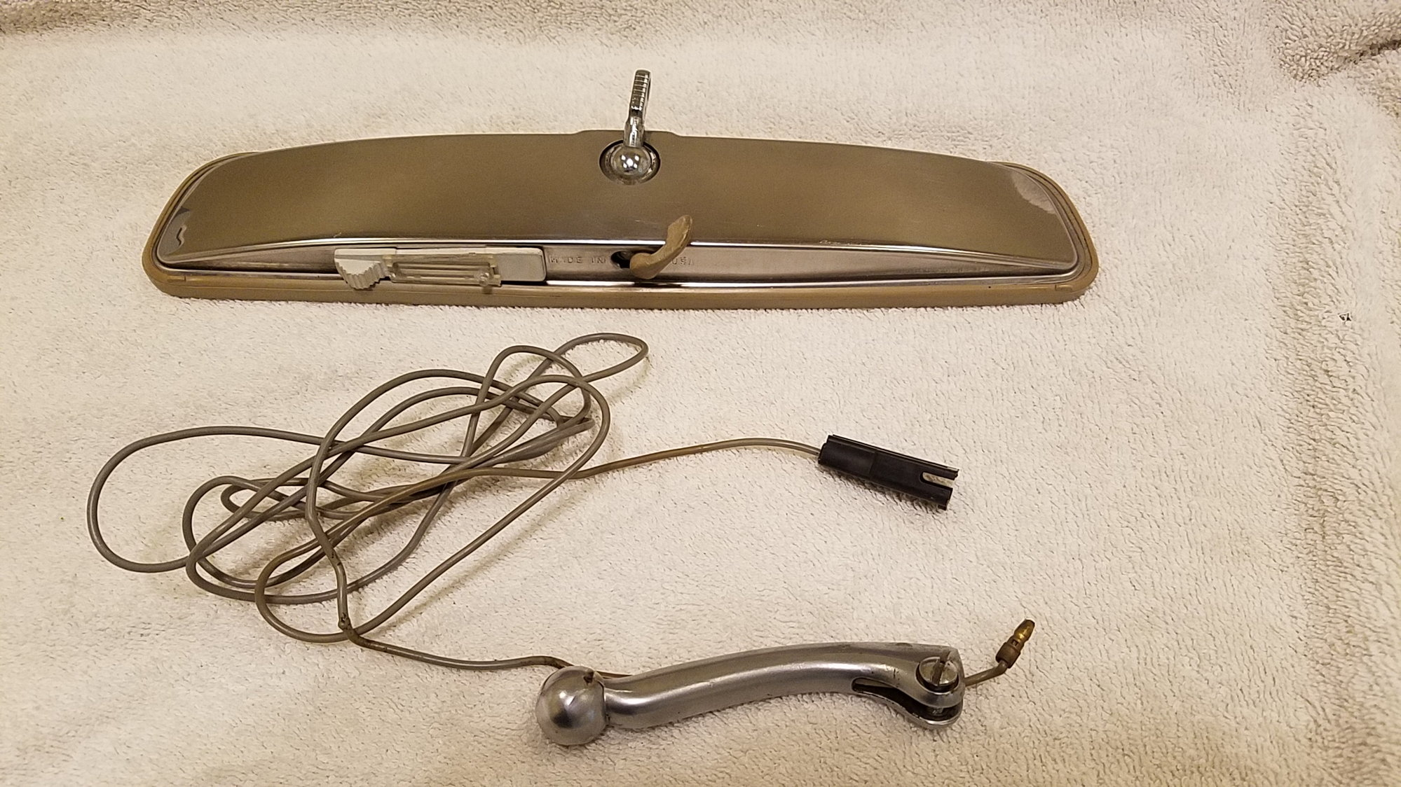 For Sale: 69-72 Rear View Mirror With Map Light