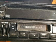Front of spare donor radio