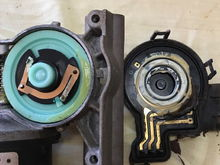 Old motor with bad contacts