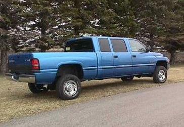 265238 1994 2001 Dodge Ram 4 Full Door Crew Cab 3