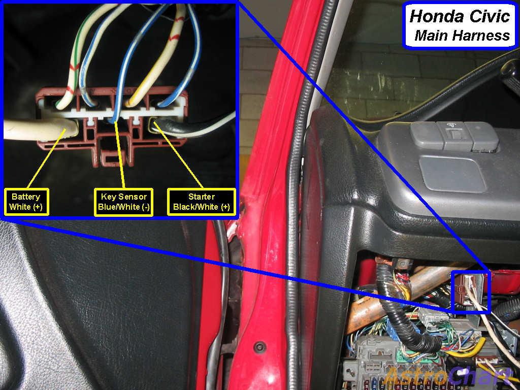 93 Civic Wont Start With Key Have To Jump - Honda-tech