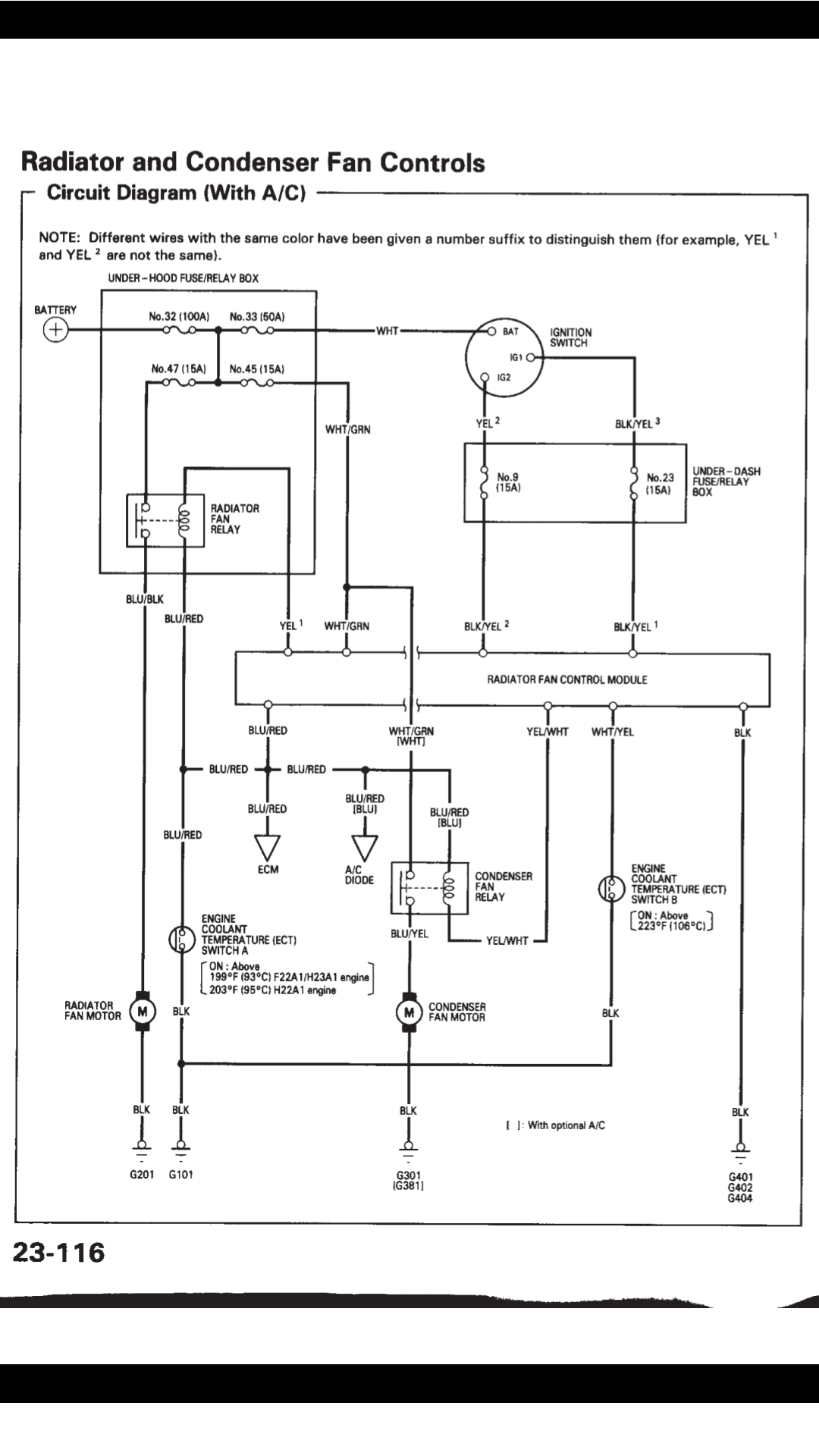 Relay Wiring Diagram Thermo Fan
