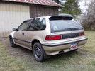 New 1990 std civic hatch
