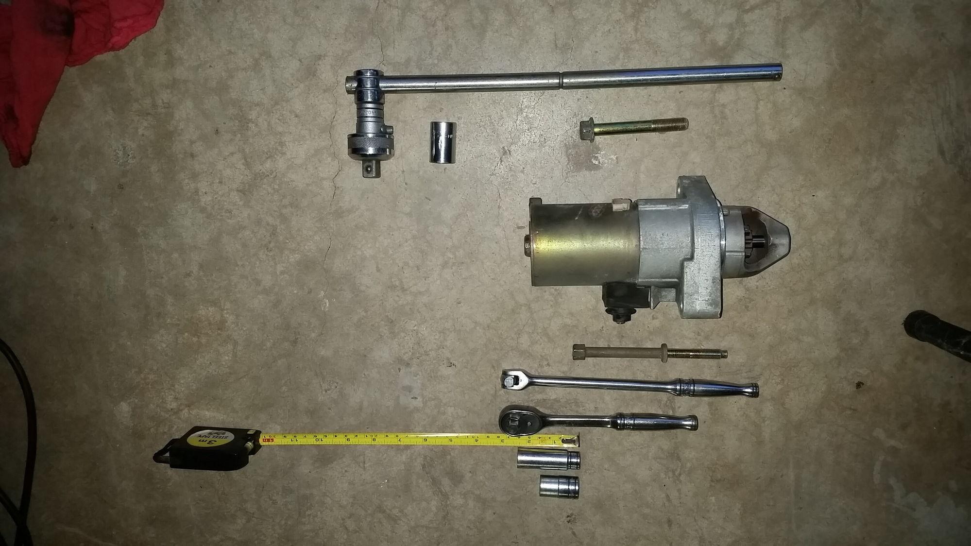 03 crv need advice on replacing starter honda tech for Honda crv starter motor