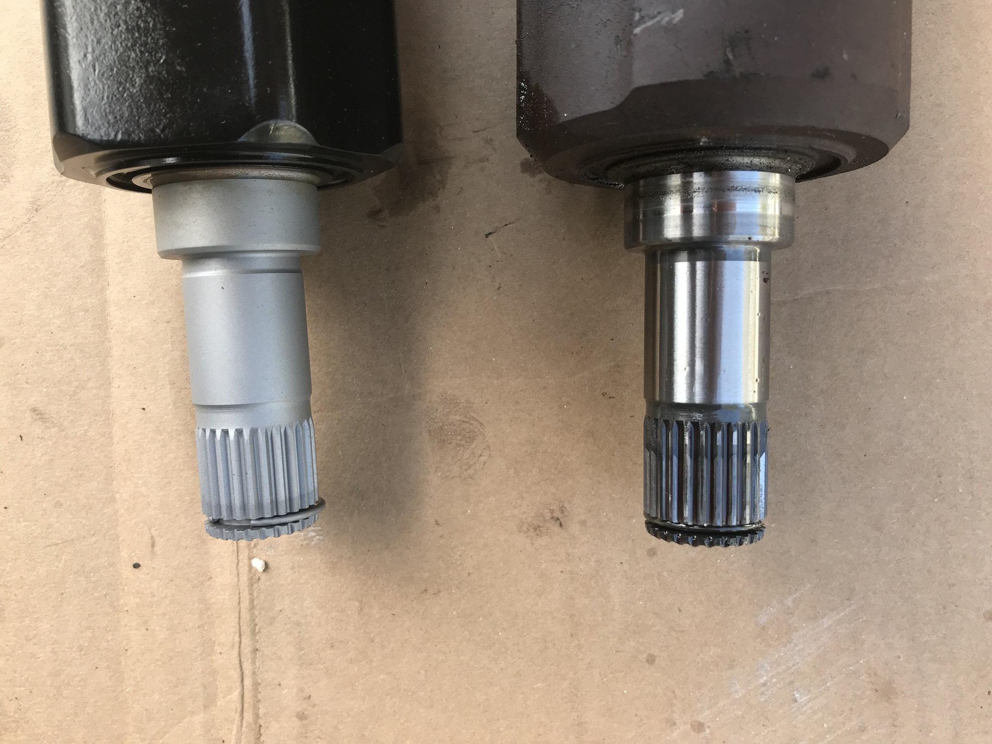 Genuine Honda 44011-ST7-950 Driveshaft Set
