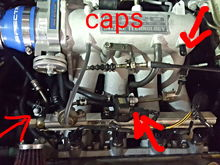 Heres what I capped off for my d16y8 IDLE is still wrong, and I am leaking coolant from the back side of the motor and cant see where, but im running a coolant line from the small coolant pipe off the new IM and to the iacv additional pictures to follow