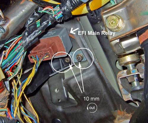 93 civic pgm fi relay location 1994 accord fuel pump relay