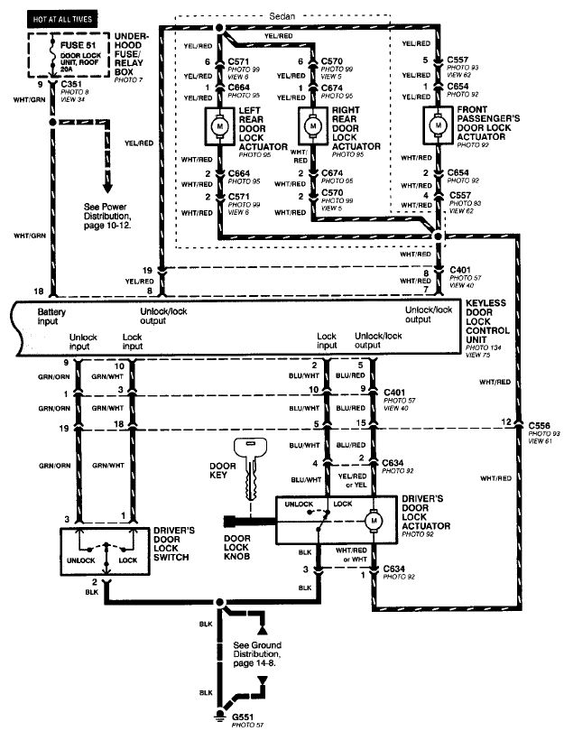 00 civic ex power door lock not working honda tech honda prelude wiring-diagram