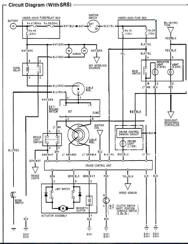 95 civic lx cruise control problem - honda-tech
