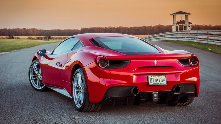 lambo is awd and the ferrari is rwd both only available with sequential auto transmissions