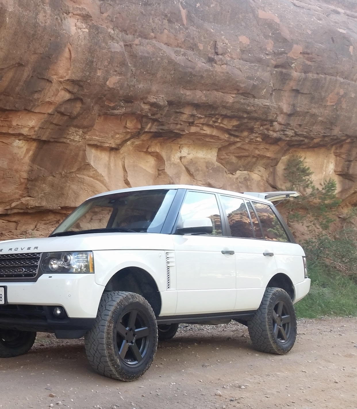 Range Rover Lifted >> Range Rover L322 2005 2012 Lift Kit Land Rover Forums Land