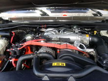the Gerry Condez Coil Pack relocation completed....front view