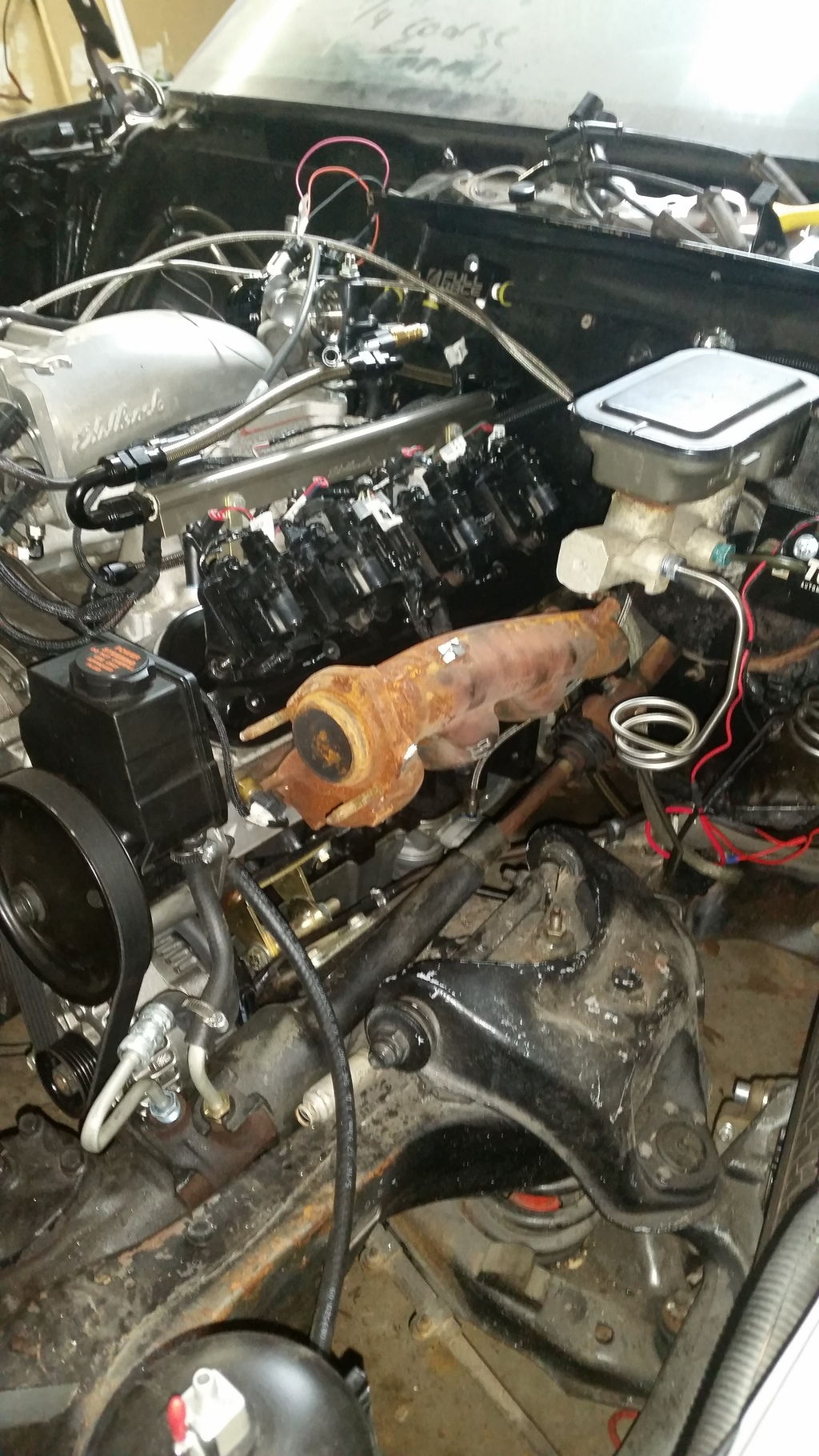 pics of an ls4 manifold for turbo g body ls1tech. Black Bedroom Furniture Sets. Home Design Ideas