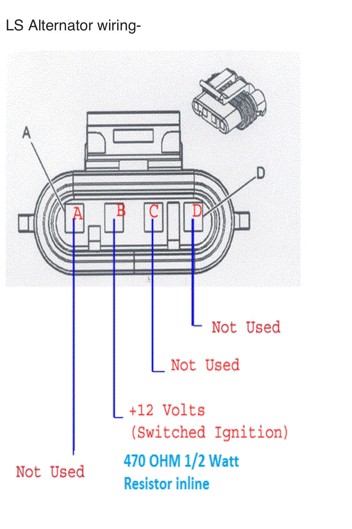 2014 Camaro Alternator Wiring Diagram