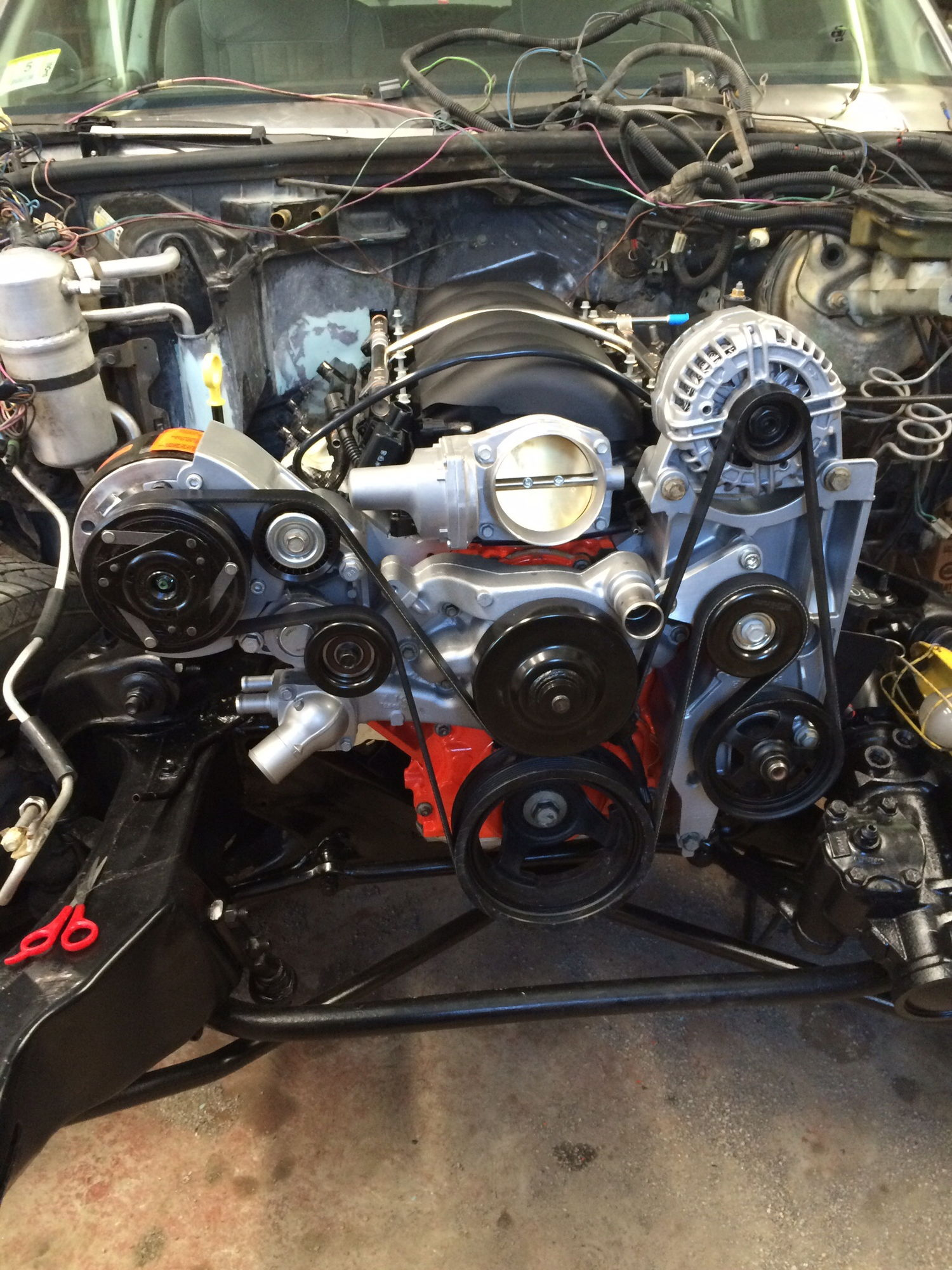 procharger for ls powered g body - ls1tech