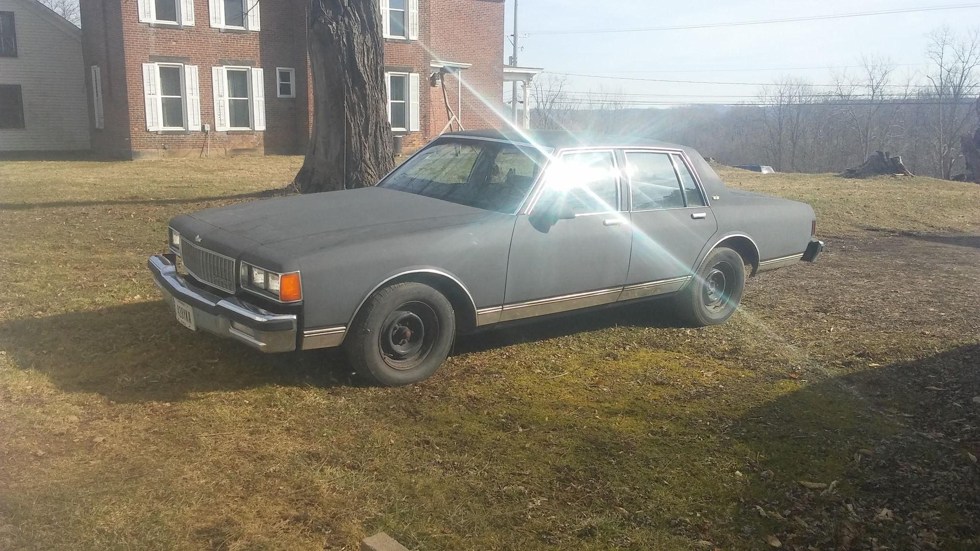 1986 caprice classic 5 3 turbo b